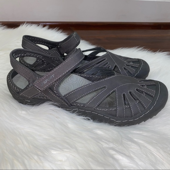 Jambu Shoes - J Sport by Jambu Sandals Shoes Gray Size 9